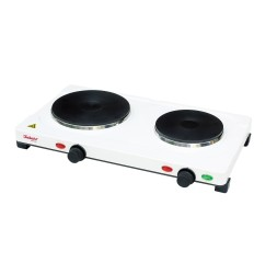 Double Burner Electric Hot Plate