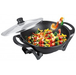 Electric Non-Stick Wok, Size: Ø32cm