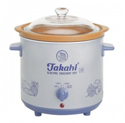 Electric Crockery Pot (Blue) HR, 3.5-Litre