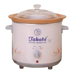 Electric Crockery Pot (Pink) HR, 3.5-Litre
