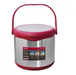 Energy-Saving Thermal Cooker With Warmer Size: 4.5-Litre + 2.0-Litre