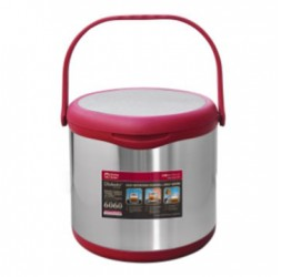 Energy-Saving Thermal Cooker With Warmer Size: 5.5-Litre + 2.0-Litre