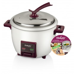 5-Cup Electric Rice Cooker with Warmer & Steamer Tray (1.0-Litre)